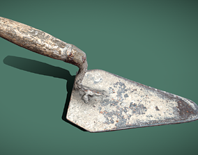 Trowel 3d scan game-ready