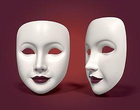 3D model Neutral Woman Mask