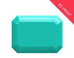 3D printable model Diamond Emerald