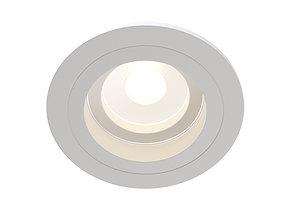 Downlight Akron DL025-2-01W Maytoni Technical 3D model