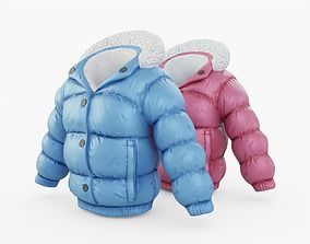 Winter Jacket 3D asset