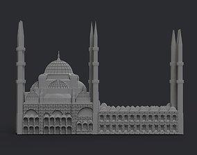 3D printable model Sultan Ahmet Mosque