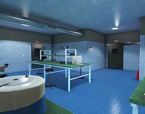 Medical Laboratory PBR 3D model