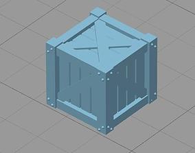 Wooden Crate 3D print model