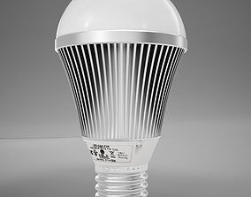 LED Light Bulb HD 3D model