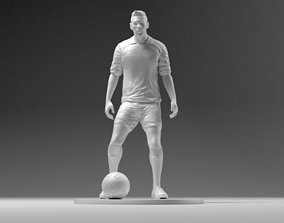 3D print model Footballer 03 Prepare To Footstrike 01 Stl