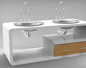 3D print model Kitchen Sink 2