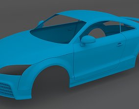 Clean Scan Audi TT RS Scanned 3D print model