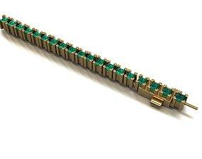 Princess bracelet 403 3D printable model