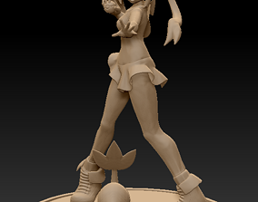 Pokemon - Rosa Trainer and Snivy nintendo 3D print model