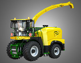 Krone Forage Harvester-without front device 3D model