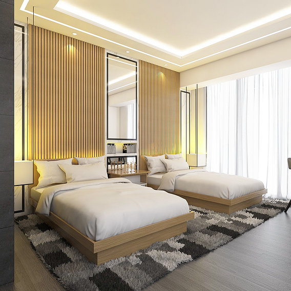 MASTER BEDROOM APARTMENT TYPE A