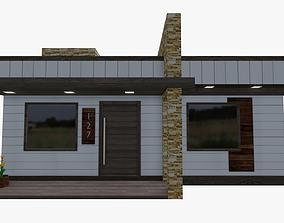 Modern House - Interior 3D asset