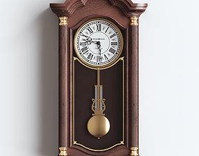 wallclock 3D model Howard miller clock