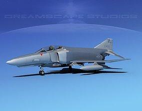 McDonnell Douglas F-4E Phantom II V14 3D model
