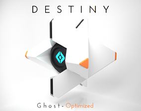 bungie Destiny Ghost - Fast print - Snap fit