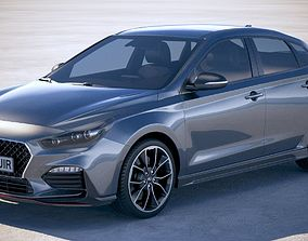 3D Hyundai i30 fastback N 2019