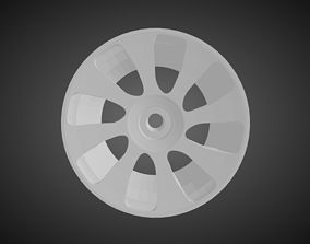 3D printable model Forgiato Bullone rims for Hot Wheels