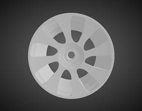 3D printable model Forgiato Bullone rims for Hot Wheels