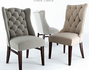 3D model Chairs Pracht Diana and Carla