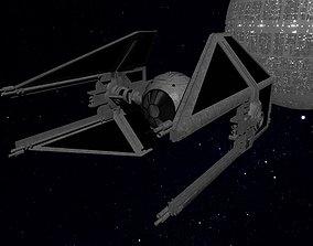 STAR WARS - TIE INTERCEPTOR 3D asset