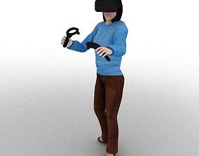 VR Animation 3D model