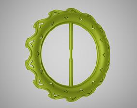 Arrow Pattern Buckle 3D print model