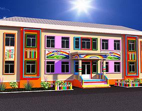 3D asset Baby School
