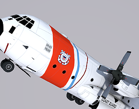 Lockheed HC-130 Coast Guard 3D model