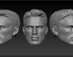 3D print model Head Steve Rogers Movie version - Chris