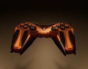 3D asset Gamepad - Scifi