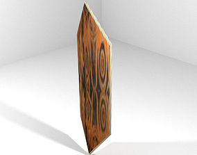 3D model Personal Armor Shield - Native Dayak