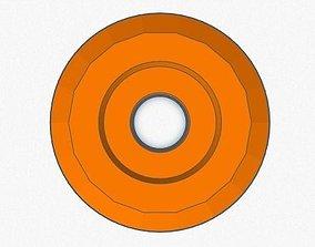 3D printable model Anti Rocker Wheel 43mm