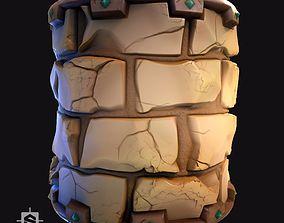 3D Stylized Desert Bricks - Substance Designer Graph