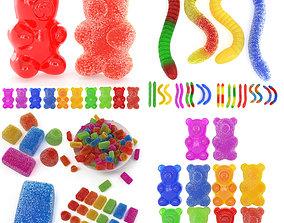 3D Gummy Sugar Collection