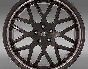 3D Dodge Vin Diesel Car rim