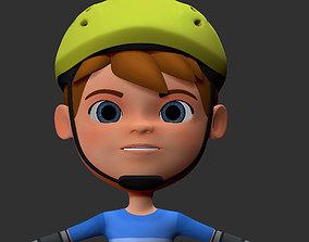 3D print model Biker kid ztool