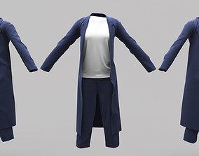 3D model Female Clothing 03