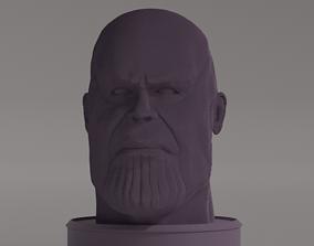 Thanos blocky sculpture 3D print model
