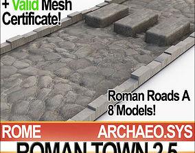 Roman Town Roads A 2 5 STL Printable 3D