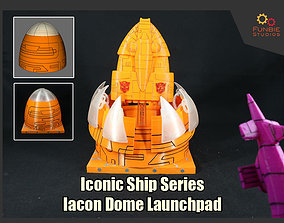 3D printable model Transformers Iconic Ship Series Iacon 4