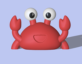 figure Funny crab 3D print model