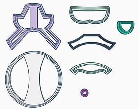 3D print model Toy Story Cookie Cutter Set