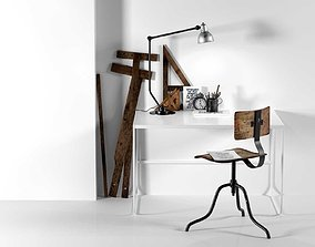 3D model Therese Sennerholt Workplace by Lotta
