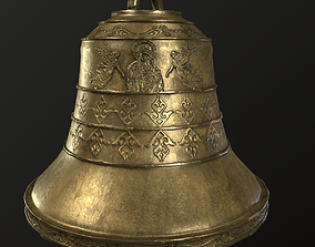 church bell 3D asset