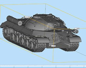 3D print model Iosef stalin Tank Highly Detailed