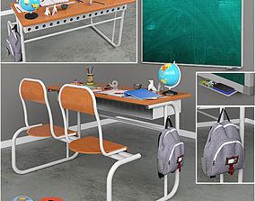 School supplies 3D printable model