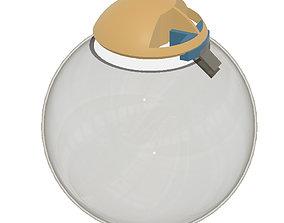 3D printable model Bowl lighting cap