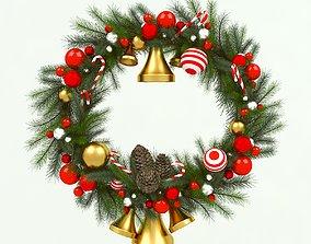 Christmas wreath other 3D