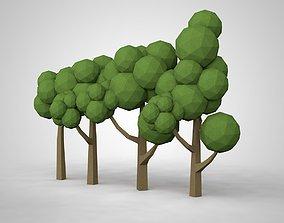 trees 3D printable model